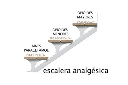 escalera analgesica OMS
