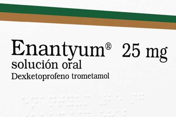 Enantyum Dexketoprofeno para el dolor muscular
